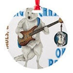 Chase On Bass Ornament