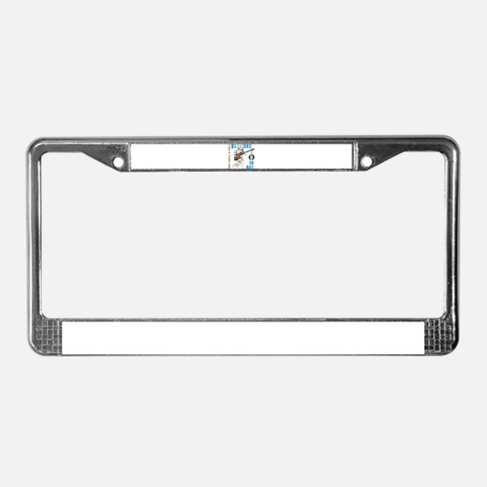 Chase On Bass License Plate Frame