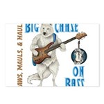 Chase On Bass Postcards (Package of 8)