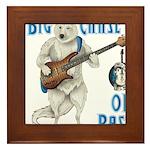 Chase On Bass Framed Tile