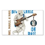Chase On Bass Sticker