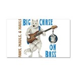 Chase On Bass Car Magnet 20 x 12