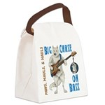 Chase On Bass Canvas Lunch Bag