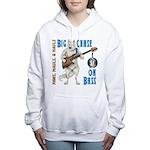 Chase On Bass Women's Hooded Sweatshirt