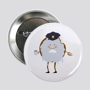 "Police Donut 2.25"" Button (10 pack)"