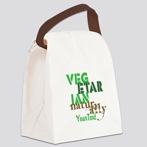 CUSTOMIZE Vegetarian Canvas Lunch Bag