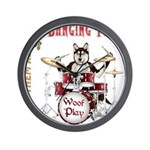 Banging Pawl Wall Clock