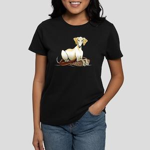 Cream Saluki Lester T-Shirt