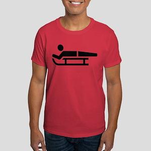 Sled luge logo Dark T-Shirt