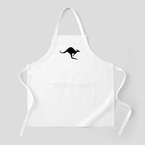 Kangaroo Silhouette Apron