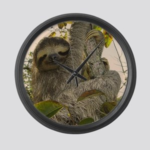 Sloth Large Wall Clock
