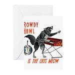 Rowdy Hawl Greeting Cards