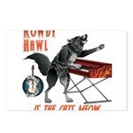 Rowdy Hawl Postcards (Package of 8)