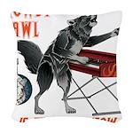 Rowdy Hawl Woven Throw Pillow