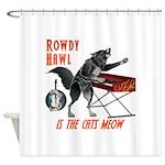 Rowdy Hawl Shower Curtain