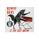 Rowdy Hawl Throw Blanket