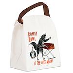 Rowdy Hawl Canvas Lunch Bag