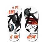 Rowdy Hawl Flip Flops