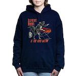 Rowdy Hawl Women's Hooded Sweatshirt