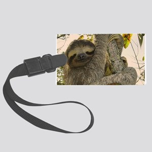 Sloth Large Luggage Tag
