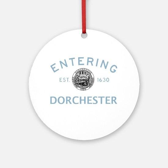 Entering Dot Ornament (Round)