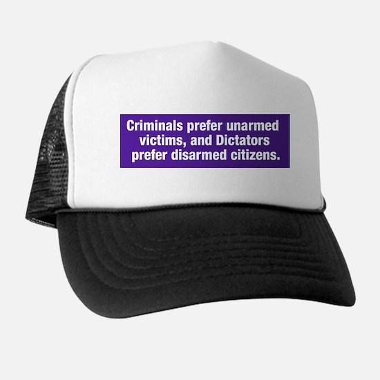 Criminals & Dictators Trucker Hat