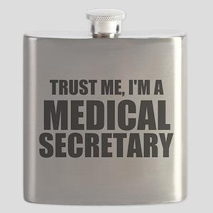 Trust Me, I'm A Medical Secretary Flask