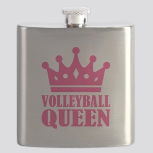 Volleyball queen crown Flask