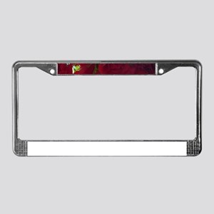 Red Roses 04 License Plate Frame