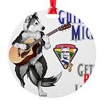 Guitar Mick Ornament