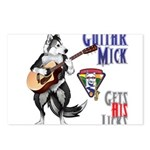 Guitar Mick Postcards (Package of 8)