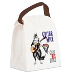 Guitar Mick Canvas Lunch Bag