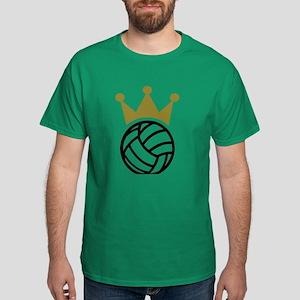 Volleyball crown champion Dark T-Shirt