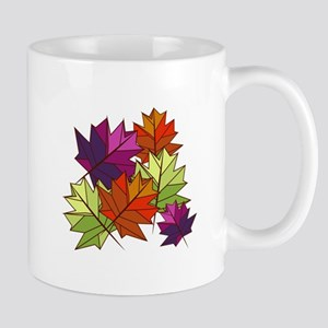 Colorful Leaves Mugs
