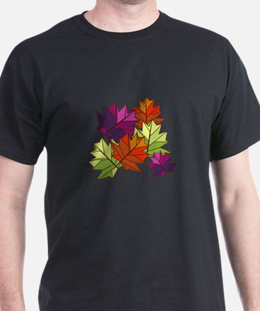 Colorful Leaves T-Shirt