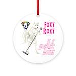 Foxy Roxy Ornament (Round)
