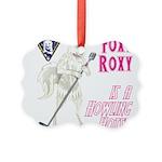 Foxy Roxy Ornament