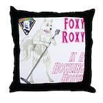 Foxy Roxy Throw Pillow