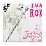 Foxy Roxy Tile Coaster