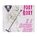 Foxy Roxy Throw Blanket