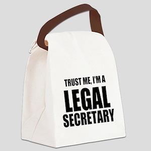 Trust Me, I'm A Legal Secretary Canvas Lunch Bag