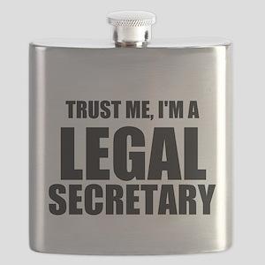 Trust Me, I'm A Legal Secretary Flask