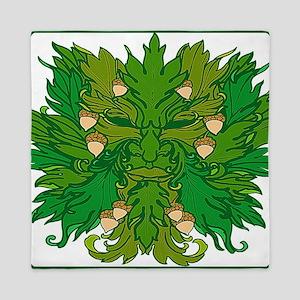 Green Man Queen Duvet