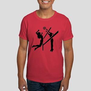 Volleyball girls Dark T-Shirt