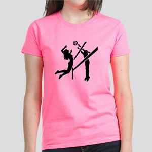Volleyball girls Women's Dark T-Shirt