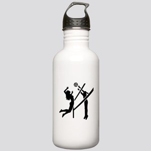 Volleyball girls Stainless Water Bottle 1.0L