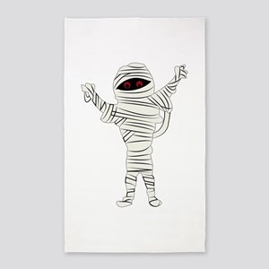 Mummy 3'x5' Area Rug