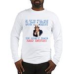 SELFIE AFTER A WORKOUT Long Sleeve T-Shirt