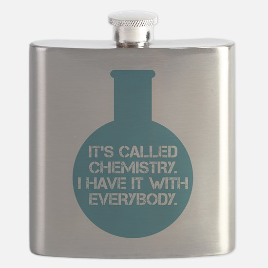 Community TV - Chemistry Quote Flask