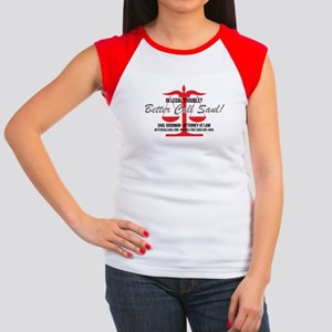 Better Call Saul Women's Cap Sleeve T-Shirt
